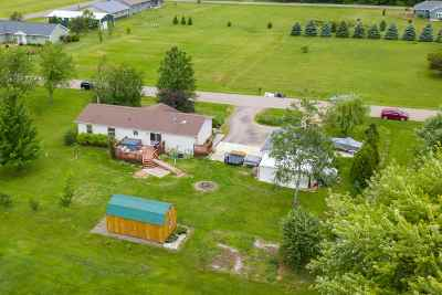 Rudolph Single Family Home Active - With Offer: 6878 Dairyland Lane