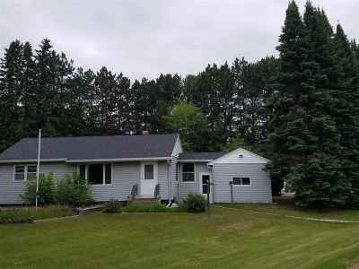 Mosinee Single Family Home For Sale: 1599 State Highway 34