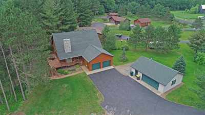Mosinee Single Family Home For Sale: 2145 Hidden Cove Lane