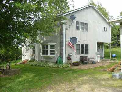 Ogema Single Family Home For Sale: N730 Hill Ogema Road
