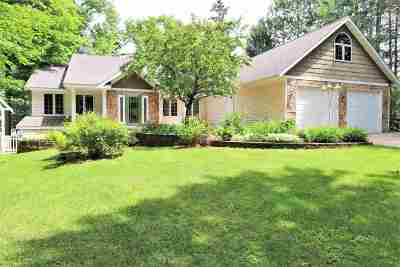 Mosinee Single Family Home Active - With Offer: 202701 Dubay Drive