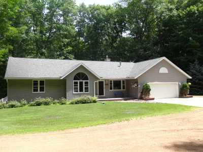 Mosinee Single Family Home Active - With Offer: 3597 Driftwood Lane