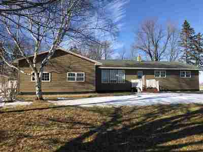 Dorchester Single Family Home For Sale: N16187 State Highway 13
