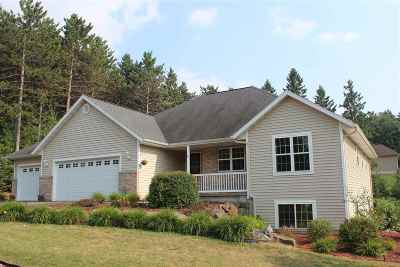 Wausau Single Family Home For Sale: 3801 Hilltop Avenue