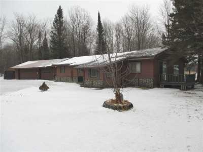 Rib Lake Single Family Home For Sale: N6916 Peche Drive