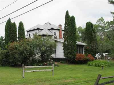 Merrill Single Family Home Active - With Offer: N2346 Lake Pesobic Road