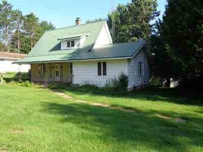 Medford WI Single Family Home Active - With Offer: $99,900