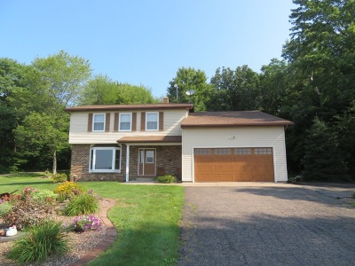Wausau Single Family Home For Sale: 6046 Hillcrest Drive