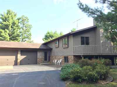 Wisconsin Rapids Single Family Home Active - With Offer: 9320 Elm Street