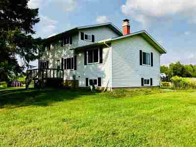 Merrill Single Family Home For Sale: N2432 County Road X