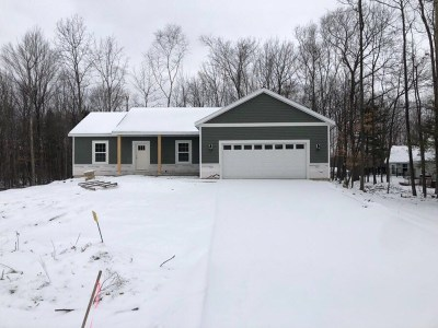 Wausau Single Family Home For Sale: Lot 1 Kingfisher Lane