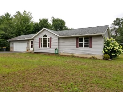 Mosinee Single Family Home Active - With Offer: 148425 Johns Lane