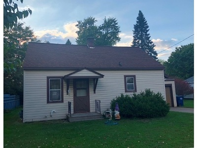 Wausau WI Single Family Home For Sale: $69,900