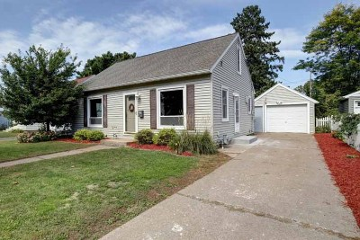 Wausau WI Single Family Home For Sale: $124,900