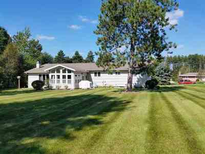 Mosinee Single Family Home Active - With Offer: 1811 Norway Lane