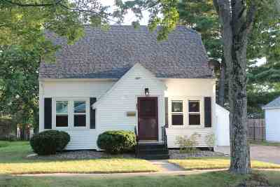 Wausau WI Single Family Home For Sale: $116,900