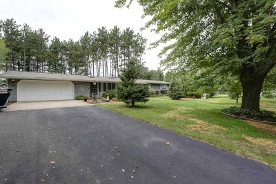 Mosinee Single Family Home Active - With Offer: 1563 Pine Grove Drive
