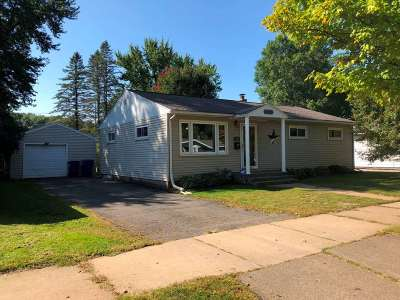 Wausau WI Single Family Home For Sale: $99,900