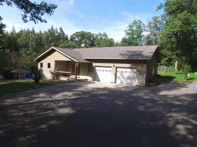 Mosinee Single Family Home For Sale: 214144 County Road Kk