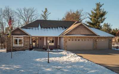 Stevens Point Single Family Home For Sale: 1801 Manor Drive
