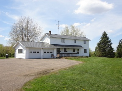 Medford Single Family Home For Sale: N3637 & N3657 State Highway 13