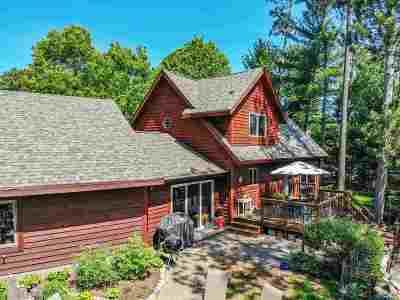 Tomahawk Single Family Home For Sale: N9936 Mohawksin Road