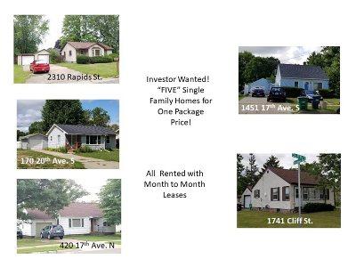 Wisconsin Rapids Multi Family Home For Sale: 2310 Rapids Street