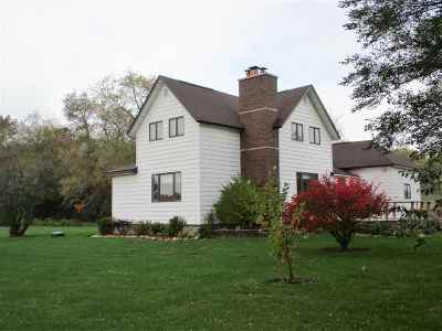 Iola Single Family Home For Sale: N8095 Anderson Road