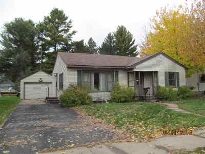 Mosinee Single Family Home Active - With Offer: 609 8th Street