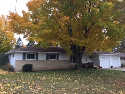 Wausau WI Single Family Home For Sale: $136,900