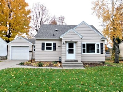 Wausau WI Single Family Home Active - With Offer: $124,900