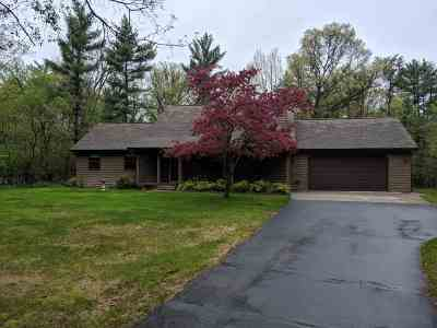 Wisconsin Rapids Single Family Home For Sale: 5831 David Drive