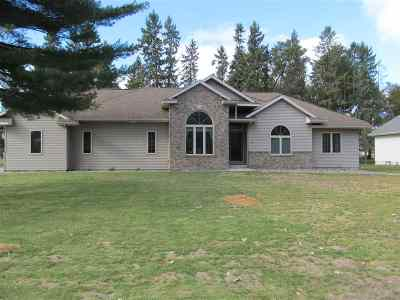 Wausau Single Family Home For Sale: 404 Cloverland