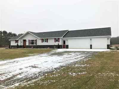 Mosinee Single Family Home Active - With Offer: 201872 Saint Johns Road