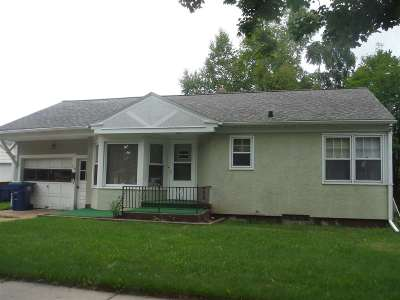 Wausau WI Single Family Home For Sale: $93,200