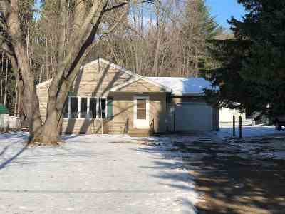 Wausau Single Family Home For Sale: 1410 Golf Club Road