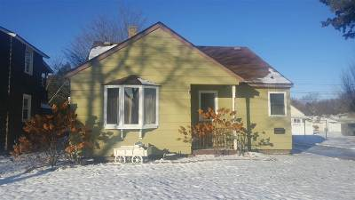 Wausau WI Single Family Home For Sale: $85,900