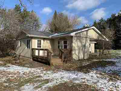 Amherst Junction Single Family Home Active - With Offer: 1815 County Road T