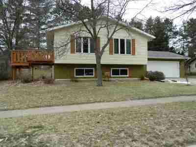 Wausau Single Family Home Active - With Offer: 3818 Woodland Ridge Road