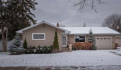 Stevens Point Single Family Home Active - With Offer: 718 Lindbergh Avenue