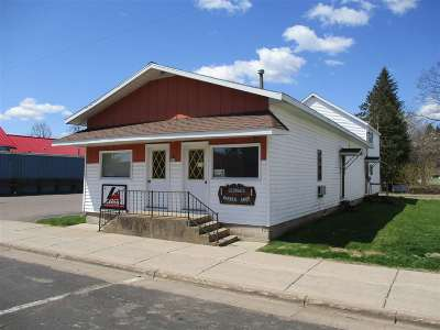 Rib Lake Commercial For Sale: 821 McComb Avenue