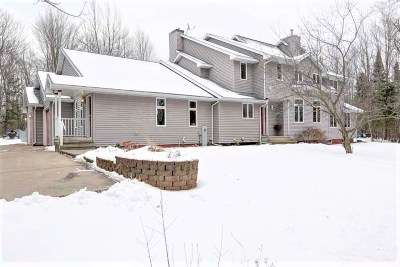 Merrill Single Family Home Active - With Offer: N1122 County Road Q