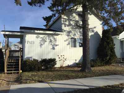 Wausau WI Single Family Home For Sale: $84,900