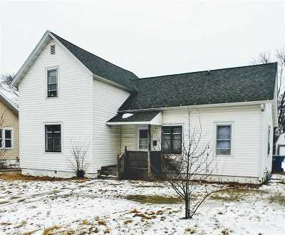 Wausau WI Single Family Home For Sale: $62,000