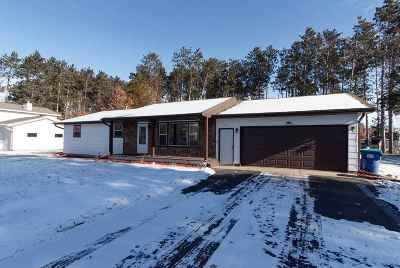 Mosinee Single Family Home Active - With Offer: 2270 Rickie Drive