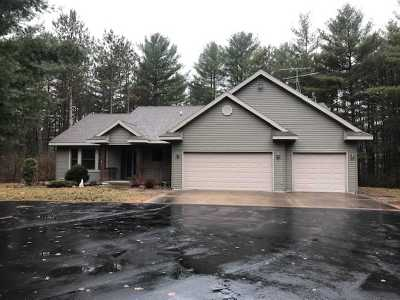 Merrill Single Family Home For Sale: W4453 Eagle Ridge Lane