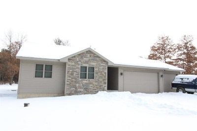 Wisconsin Rapids Single Family Home Active - With Offer: 11437 S 64th Street