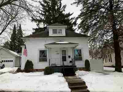 Wausau Single Family Home Active - With Offer: 909 Park Avenue