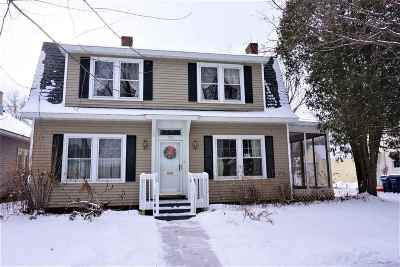Wausau WI Single Family Home For Sale: $114,900