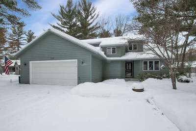 Wisconsin Rapids Single Family Home Active - With Offer: 6110 Timberline Court
